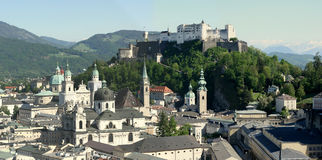 Salzburg city Royalty Free Stock Photo