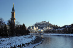 Salzburg City  - Austria Royalty Free Stock Photography