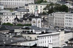 Salzburg city centre Royalty Free Stock Photo