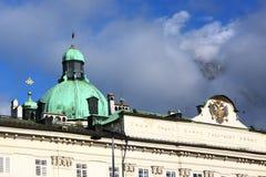 Salzburg city hall Stock Image