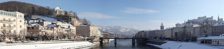 Salzburg City Panorama - Austria Royalty Free Stock Images