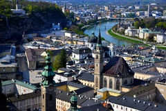 Salzburg city Stock Photos