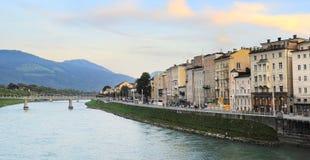 Salzburg citysacpe Royalty Free Stock Images