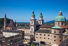 Salzburg cityscape Royalty Free Stock Photography
