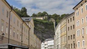 Salzburg cityscape, Austria royalty free stock photos