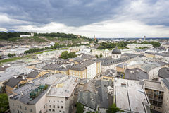 Salzburg cityscape, Austria, Europe Royalty Free Stock Photo