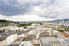 Salzburg cityscape, Austria, Europe Stock Photos