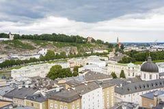 Salzburg cityscape, Austria, Europe Stock Images