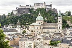 Salzburg cityscape, Austria, Europe Royalty Free Stock Image
