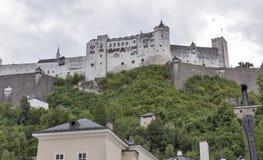 Salzburg cityscape with Castle, Salzburger Land, Austria Stock Photography