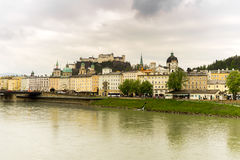 Salzburg Cityscape Royalty Free Stock Photos