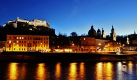 Salzburg Dawn stock images