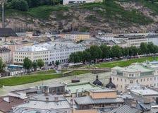 Salzburg in de bergen Oostenrijk Royalty-vrije Stock Fotografie