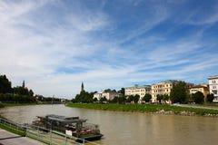 Salzburg in de zomer van 2011, Duitsland Stock Foto's