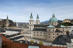 Salzburg dome Royalty Free Stock Photo