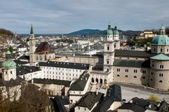 Salzburg dome Royalty Free Stock Photos