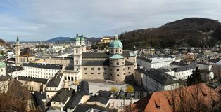 Salzburg dome Royalty Free Stock Image