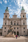 Salzburg domkyrka Arkivbilder