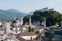 Salzburg em Áustria Fotografia de Stock Royalty Free