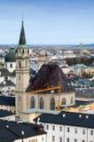 Salzburg Franciscan Church Royalty Free Stock Photos