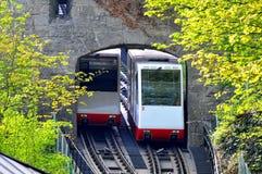 Salzburg - funicular transport stock photo