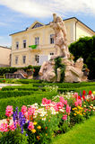 Salzburg gardens Royalty Free Stock Photo