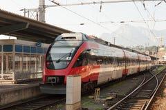 Salzburg Hauptbahnhof Stock Fotografie