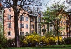 Salzburg houses Stock Image