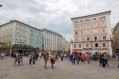 Salzburg Inner-City Stock Photography