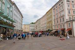 Salzburg Inner-City Royalty Free Stock Photo