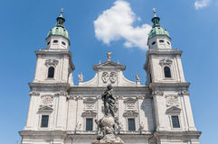 Salzburg katedra przy Salzburg, Austria (Salzburger Dom) Zdjęcia Royalty Free