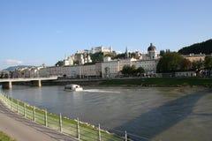 Salzburg - landschap Stock Afbeeldingen