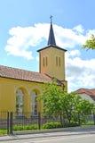 Salzburg Lutheran church. City Gusev, Kaliningrad region Royalty Free Stock Photo