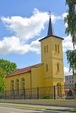 Salzburg Lutheran church. City Gusev, Kaliningrad region Stock Photo