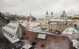 Salzburg miasteczko, Austria, Europa Zdjęcie Royalty Free