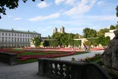 Salzburg - Mirabellengarten lizenzfreie stockfotografie
