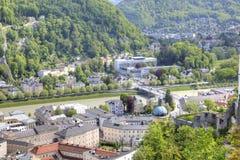 Salzburg. Municipal landscape Stock Images