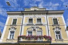 Salzburg old architecture, Austria Stock Photography
