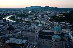 Salzburg old town Stock Photos
