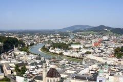 Salzburg Oostenrijk Stock Foto