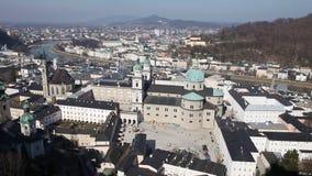 Salzburg, Oostenrijk stock footage