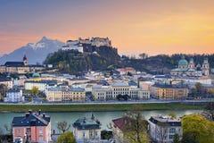 Salzburg, Oostenrijk Stock Foto's