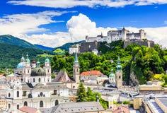 Salzburg, Oostenrijk Royalty-vrije Stock Afbeeldingen