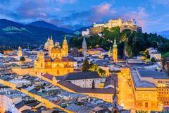 Salzburg, Oostenrijk Royalty-vrije Stock Afbeelding