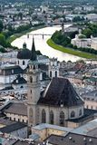 Salzburg Oostenrijk Stock Afbeelding