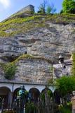 Salzburg, Oostenrijk - Mei 01, 2017: Hohensalzburgvesting, Salzburg in Oostenrijk Royalty-vrije Stock Afbeeldingen