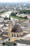 Salzburg panorama Stock Image