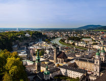 Salzburg panorama Royalty Free Stock Photography