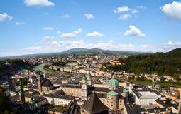 Salzburg panorama Stock Photos