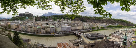 Salzburg panorama Stock Images